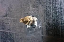 valvola chiusura bagno indurita