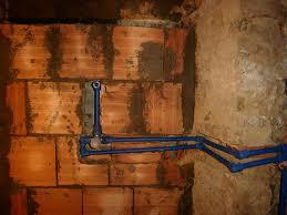 Posizionamento e misure del miscelatore per doccia for Collegamento del tubo di rame al pvc