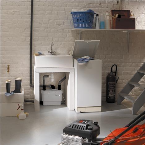 Collegare la pompa sanitrit per lavatrice e lavello for Raccordo casa verticale