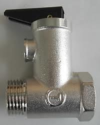 valvola di sicurezza per scaldabagno elettrico